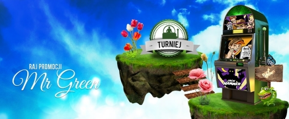 Turniej na Jack Hammer w Mr Green (19-20.05)